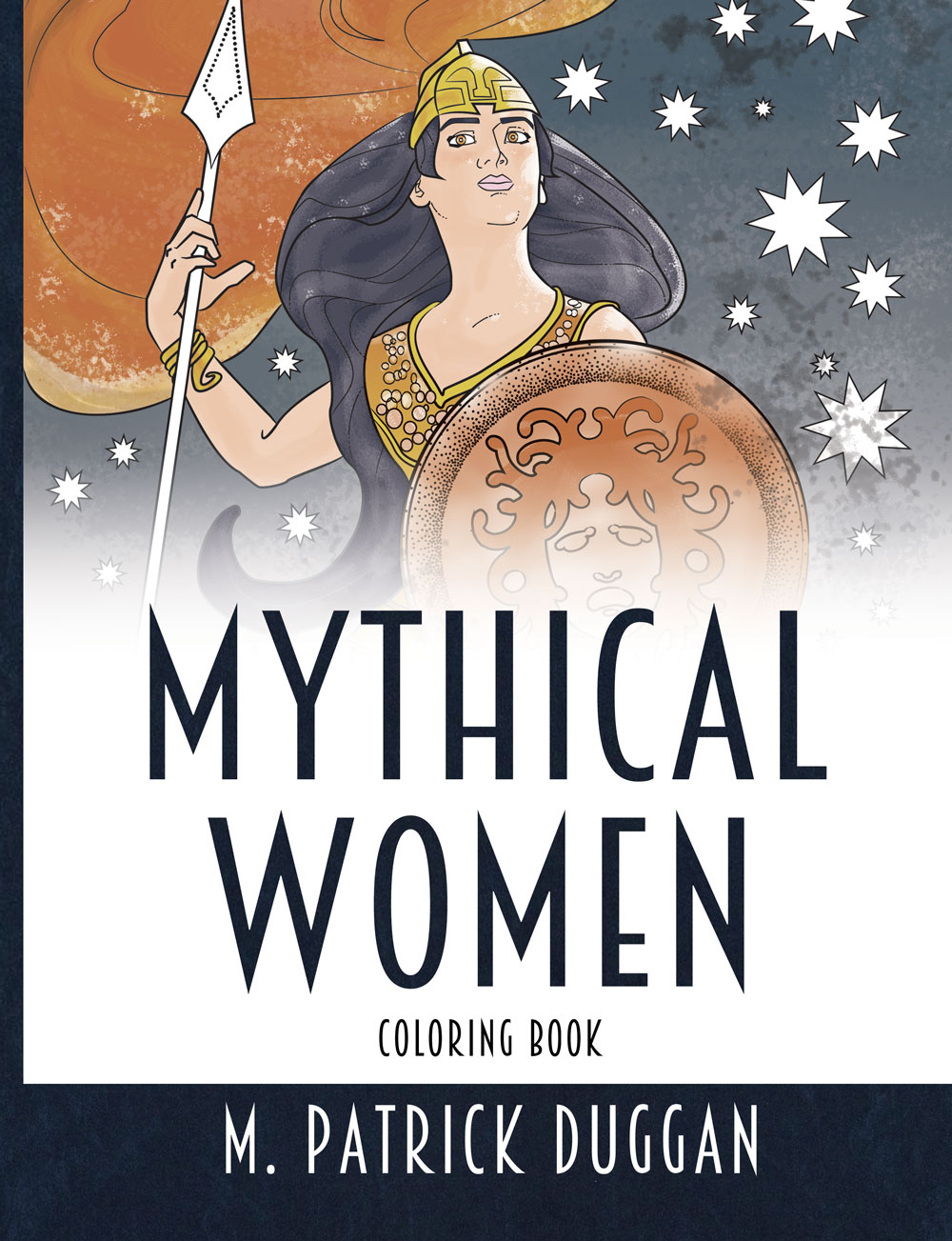Mythical Women Coloring Book by M. Patrick Duggan